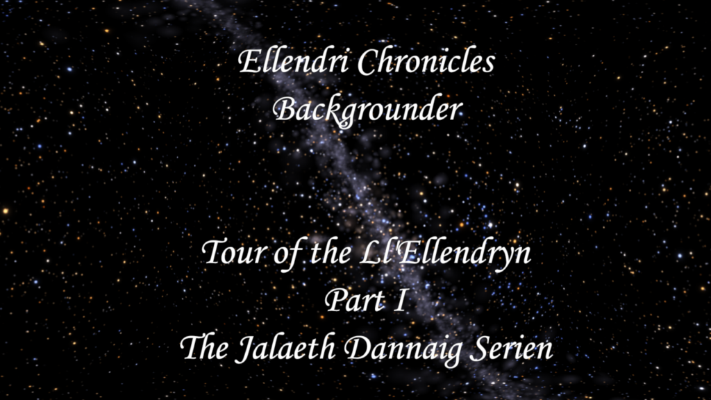 Book Cover: Ellendri Chronicles Backgrounder Part 1
