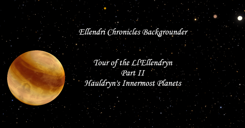 Book Cover: Ellendri Chronicles Backgrounder Part 2