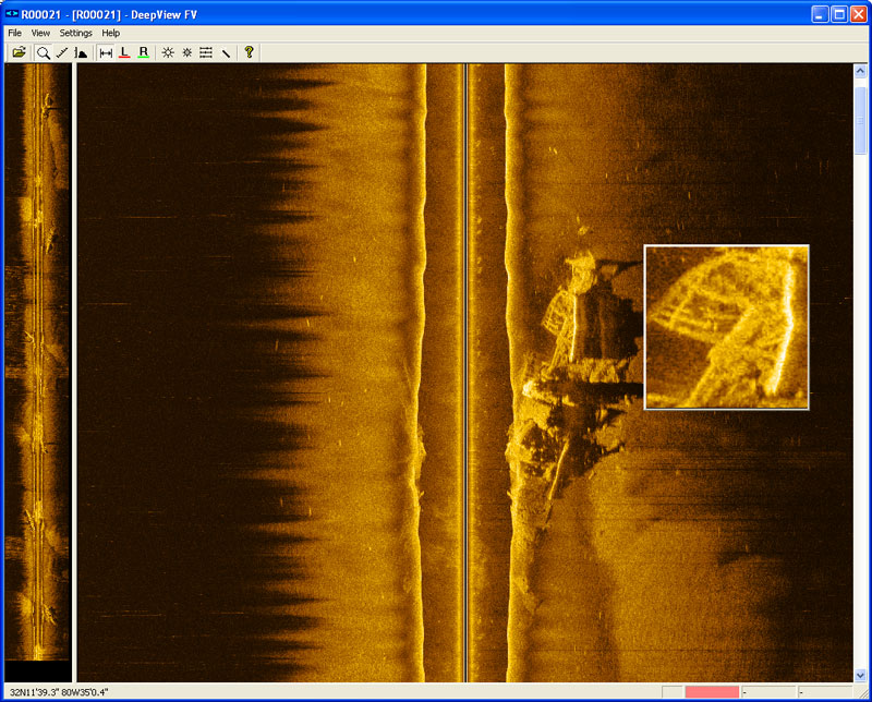 sidescan sonar, Fish Finder